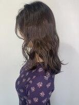 ガーデン ヘアーアンドボタニカル(Garden hair&botanical)【セミロングスタイル】モーヴグレージュ