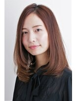 フィンセント 新高円寺店(VINCENT)上品なナチュラルセミロング/綺麗なお姉さん