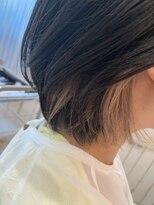 クラシコ ヘアー(CLASSICO hair)シャドーインナーカラー