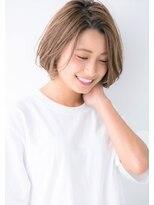 ユーフォリアギンザ(Euphoria GINZA)【Euphoria GINZA 】3Dカラー エッジショートボブ 畑俊太朗