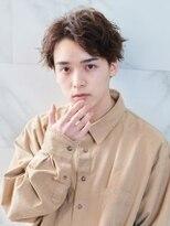 オーブ ヘアー フィノ 小樽店(AUBE HAIR fino)【AUBE HAIR】ソフトツーブロック×センターパート