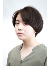 カミカガク【カミカガク】佐藤友紀大人かわいい ショートヘア ショートボブ