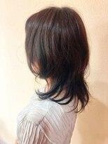ライフヘアデザイン(Life hair design)長めウルフミディ