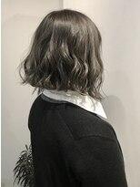 フレイムスヘアデザイン(FRAMES hair design)無造作ボブ×メルティーグレージュ♪
