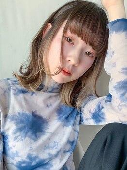 """ノラジャーニー(NORA Journey)の写真/カラー専門店で経験を積んだスタイリスト在籍!豊富なカラー剤の中から""""理想の髪色""""を叶えます☆"""