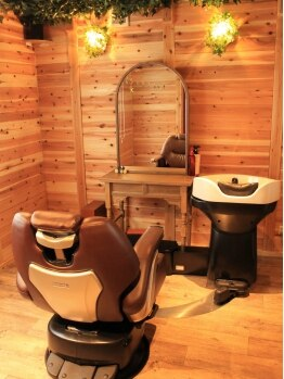 ヘアデザイン モーク(Hair Design MO KU)の写真/完全個室あり◇シトラス、フルーティー、ハーバル3種類の香りから、お客様の髪の状態や気分に合わせます☆
