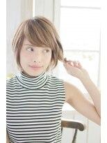 美髪デジタルパーマ/バレイヤージュノーブル/クラシカルロブ/338