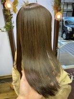 コレット ヘアー 大通(Colette hair)『オリーブアッシュ』