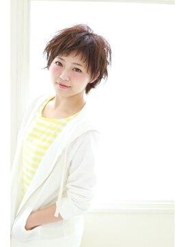 イクシェル 川西店(IXCHEL)【IXCHEL】フリーズ☆オン眉ショート