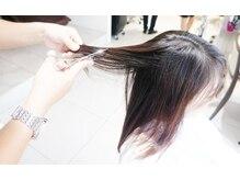 スキバサミを使わない『アールカット』で髪質まで変わる!!DIFINO赤坂オリジナルの技術でリピート多数!!