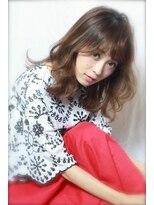 アンヘアー アリーズ(UN hair Ally's)江坂UNhair/とろみロブ♪ゆるふわドーリーカール担当☆石富