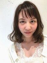 Ayaka★透け感のある前髪がオシャレ!!コテ巻き風低温デジパ