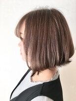 フレイムスヘアデザイン(FRAMES hair design)ショコラグレージュ×ふんわりボブ