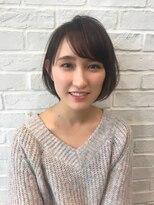 ガーデン ハラジュク(GARDEN harajuku)【Grow】高橋 苗 ひし形シルエットの小顔ショートボブ★