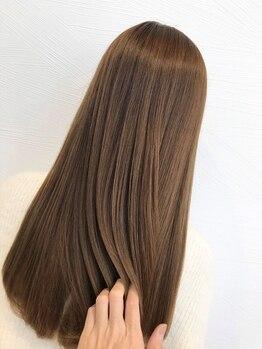 ラカーロ(La CARO)の写真/【一宮】本当になりたい髪質に合わせ、プロが最適なトリートメントを選出*芯から潤う極上のツヤ髪を実現*