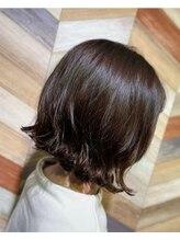 ヘアートゥリース(hair trees)ボブ×パーマ