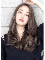 ヘアサロン ガリカ 表参道(hair salon Gallica)☆ グレージュ & 毛束感 ☆ナチュラルひし形シルエットスタイル