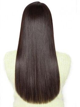 キュリオ 尾山台(curio)の写真/繰り返す度に美しい髪質に改善していくcurioの【髪質改善ストレート】ダメージで縮毛を諦めていた方必見♪