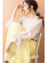 テラスオブベル(TERRAS of belle)スカーフアレンジ☆