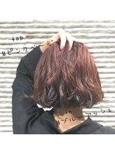 ミック ヘアアンドメイクアップ 川口店(miq Hair&Make up)cuteのインナーカラー