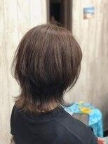 カイナル 関内店(hair design kainalu by kahuna)ドライヴカット×外はねウルフ