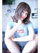 【mighty hair】 ロブ×グレージュ A/W*[052-262-4162]