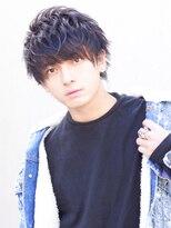 アクロス(AKROS)黒髪マッシュ