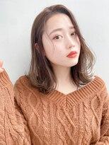 ガーデントウキョウ(GARDEN Tokyo)【GARDEN荒井夏海】流し前髪×ふんわりレイヤーボブ