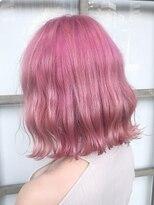 ヘアーアイスカルテット(HAIR ICI QUARTET)ペールピンク 韓国 切りっぱなしボブ