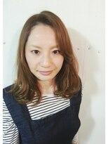 トリコ ヘアアンドケアスペース(trico hair&care space)trico Togo Semi Long Style☆プラチナアッシュ☆