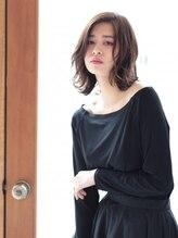 シェルベアー(Shell Bear)☆ShellBear 銀座店☆大人の色っぽセミディ/西谷