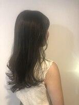 ヘアメイク オブジェ(hair make objet)オリーブベージュ ロング