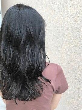 ヘアアンドメイクグラチア(HAIR and MAKE GRATIAE)暗髪【6トーン】ブルーグレージュ☆