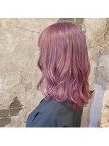 magiy hair [yumoto]キャンディピンクアッシュ