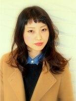ジル ヘアデザイン ナンバ(JILL Hair Design NAMBA)【JILL】外国人風アッシュカラーで大人かわいい抜け感セミディ