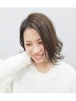 エイム ヘアメイク 横川店(eim HAIR MAKE)eim で叶える♪ふんわりフェミニン☆愛されボブ