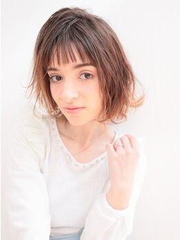 ピヴォーテ(Pivote)の写真/口コミでも大好評のカット技術★髪の状態やパーマの残り具合、気になる部分を考慮して扱いやすいStyleに♪