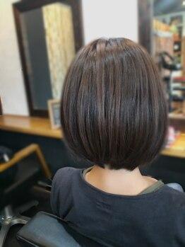 フェリーチェ(felice)の写真/【潜在美を引き出す!】クセや髪質に合わせて家でもスタイリングしやすい髪型に!モチがいいと好評です◎