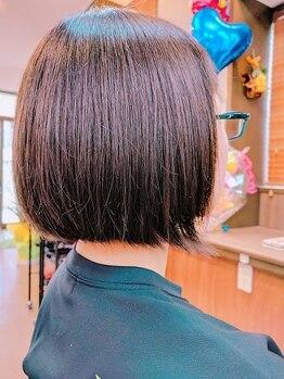 """ヘアースタジオ オハナ(Hair Studio Ohana)の写真/【冬に傷んだ髪に栄養補給を♪】しっかりカウンセリングし、悩みや""""なりたい""""に寄り添います【Trが¥540】"""
