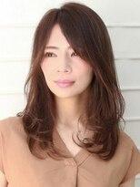 ヘアメイク アース 福島イオン通り店(HAIR & MAKE EARTH)艶髪ワンカールスタイル