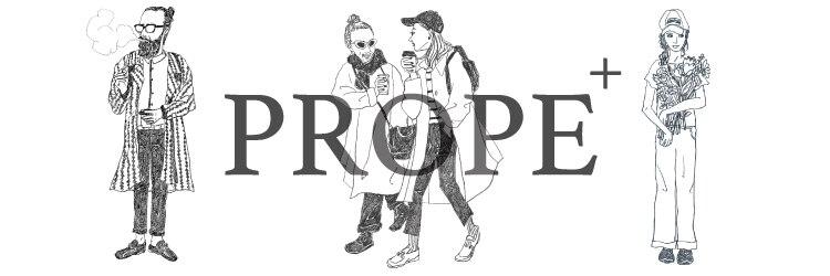 プロープ(PROPE+)のサロンヘッダー