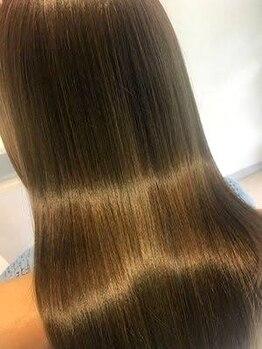 ノレン 目白(nolen)の写真/【当日予約OK◎】髪質にあわせたオーダーメイドTr『Aujua』や髪質改善Tr『TOKIO』で素髪から美しい髪質に◎