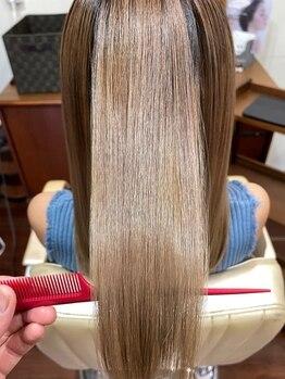 モードクラウド(MODE CLOUD hair design)の写真/話題の髪質改善♪酸熱トリートメント使用で、毛先内部からしっかりダメージをケア★指通りのいいうる艶髪へ
