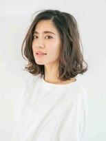 アース 武蔵境店(HAIR & MAKE EARTH)ふんわり大人女子ボブディ