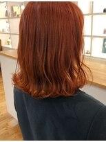 ルッツ(Lutz. hair design)orange hair