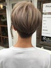 ヘアメイク エアリール(HairMake airile)メンズカットデザインカラー