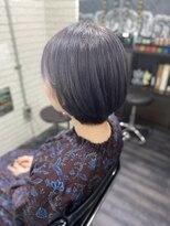 ミミック (mimic)ash gray short hair TRICKstyle!