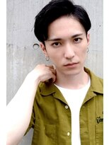classical×traditional side part#001