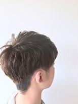 【 ADDICT 】ビジカジ 束感ツーブロック アッシュ