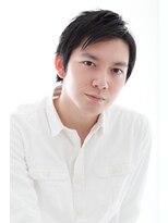 メンズウィル バイ スヴェンソン 札幌スタジオ(MEN'S WILL by SVENSON)前髪はかき上げてもOK ショートレイヤーコンマヘア